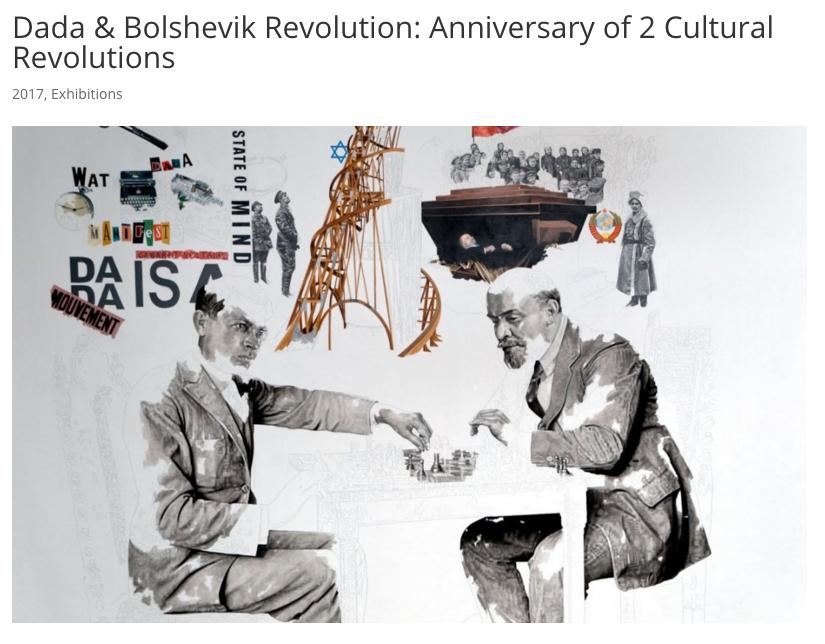 Dada si revolutia bolsevica