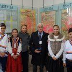 Bobota Muzeul G Sincai cu elevii ghizi